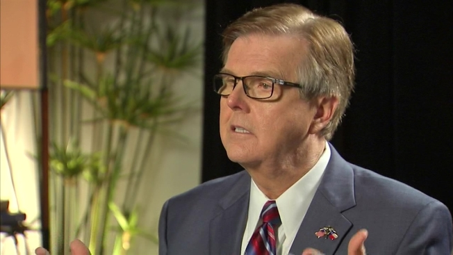 Lt. Gov. Dan Patrick Summoned to White House Ahead of Trump Speech