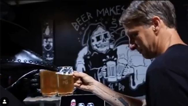 Tony Hawk Creates Craft Beer 'Tony Hawps IPA'