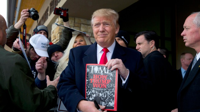 Donald Trump Says He Rejected 'Probably' Being Time's 'Person Of The Year'