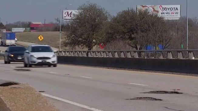 txdot road crews race to fix potholes in north texas nbc 5 dallas