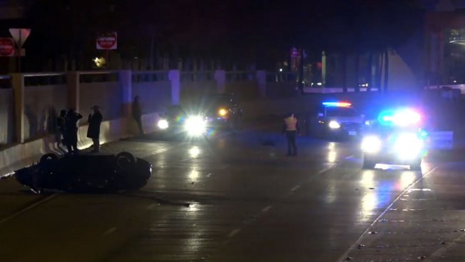 Speeding Porsche Veers Off Dallas Exit Ramp, 2 Dead: Police