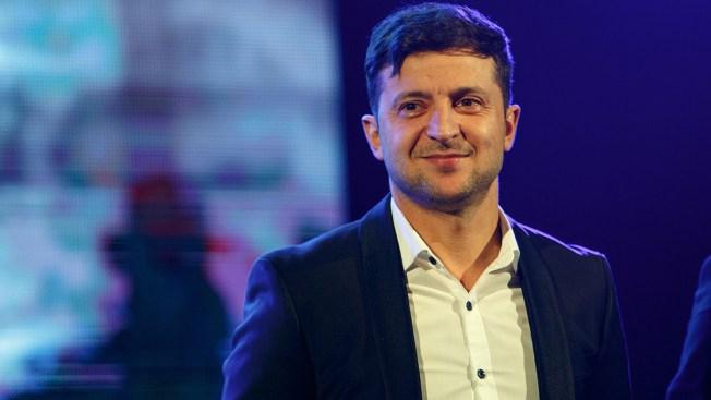 Comedian Leads Polls in Ukraine's Presidential Race