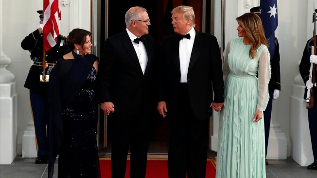 Australia's Morrison at White House for Trump's Second State Visit