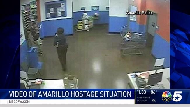 Amarillo Swat Kills Gunman Wal Mart Hostage Safe Police