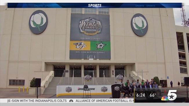 NHL Reveals Cotton Bowl 2020 Winter Classic Plan. At a press conference ... bd0c7d082