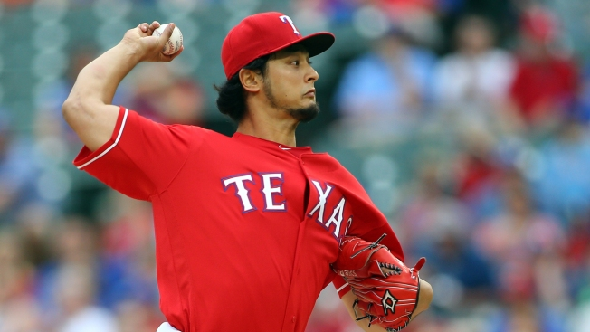 Darvish Slowly Increasing Workload