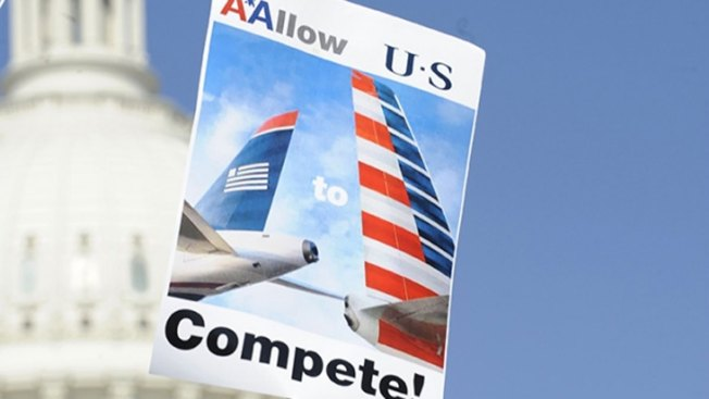 Mayors Ask Attorney General to Help Settle AA-US Airways, DOJ Lawsuit