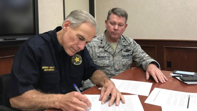 Gov. Abbott Requests Control of U.S. National Guard in Texas