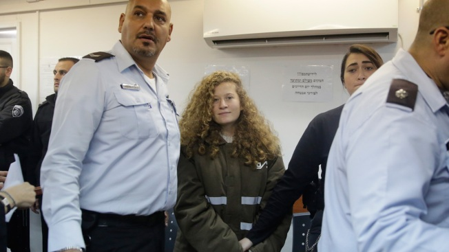 Palestinian Teen to be Held Until Trial for Slapping Troops