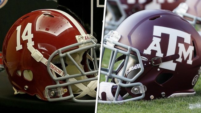 National Football League teams send scouts to Alabama vs. Texas A&M