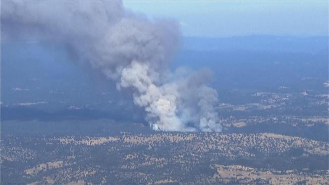 NorCal Wildfire Forces Evacuations in Yosemite Area