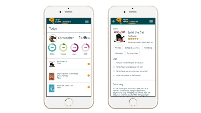 Amazon Tool Aims to Help Parents Monitor, Talk to Kids