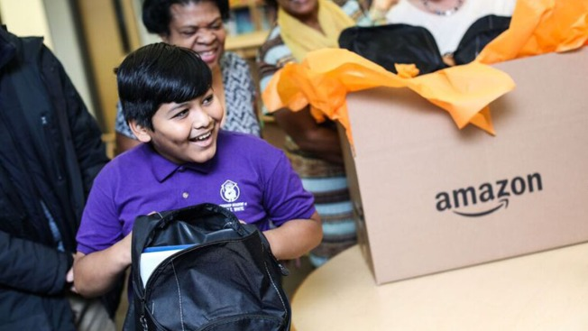 Amazon Donates School Supplies, STEM Funding to DFW Schools