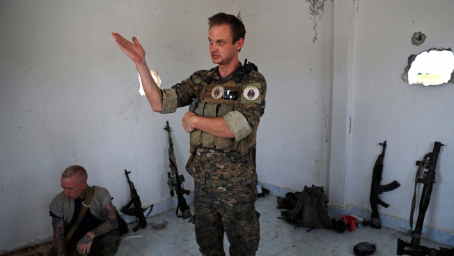 Americans, Brits Volunteer on the Front Lines Against ISIS in Syria