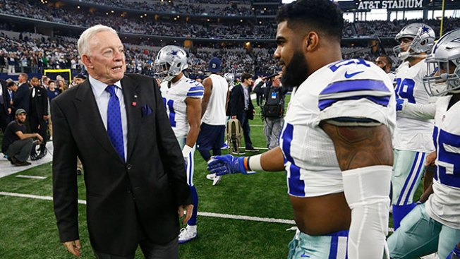 Jerry Jones: 'Everything's in Place' for NFL in Elliott Case