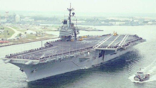 "Texas Recycler Hauls Away Navy ""Supercarrier"" for One Cent"