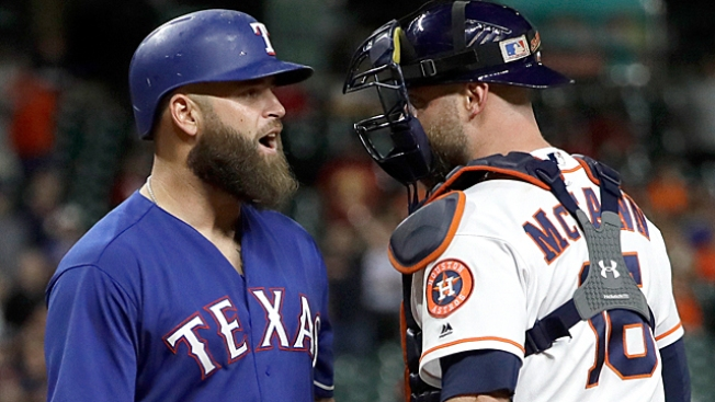 Astros-Rangers game was a sad Harvey afterthought
