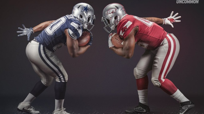 Arkansas Razorbacks to Wear Specialty Cowboys-Inspired Uniforms at AT&T Stadium