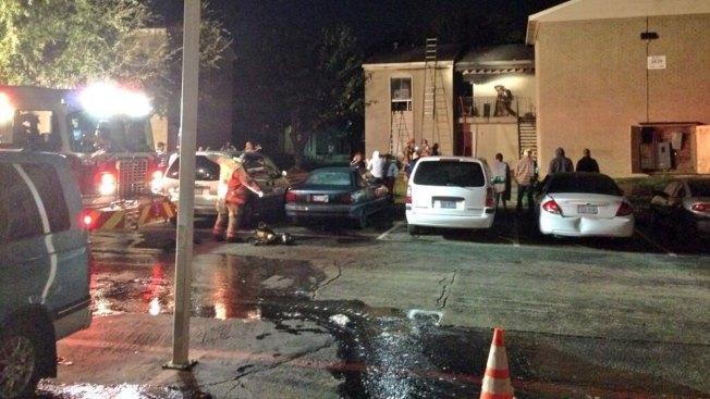 Apartment Fire Displaces Arlington Families