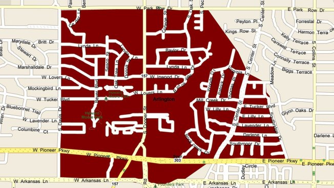West Nile Virus Texas Zip Code Map.Arlington To Spray For Mosquitoes Wednesday Thursday Nbc 5 Dallas