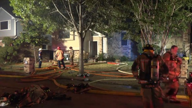 Arlington Duplex Building Fire Under Investigation