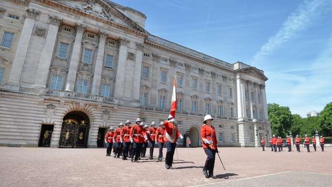 Canadian Becomes First Woman to Lead Changing of the Guard at Buckingham Palace