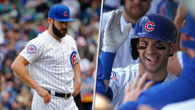 Kris Bryant hits 3 homers as Cubs, Arrieta beat Reds 11-8