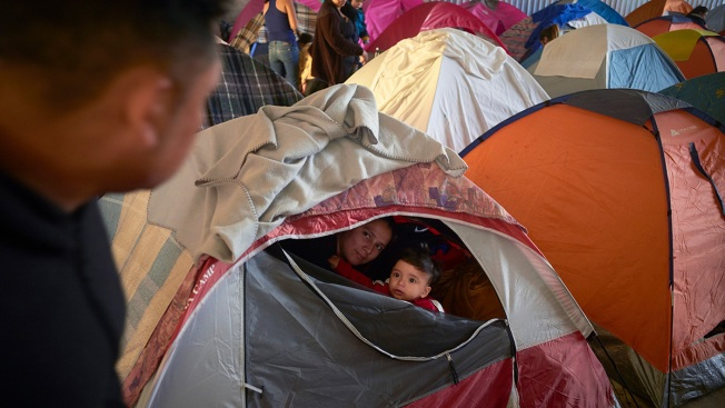 Asylum Seekers Waiting in Mexico Seek to Stay in US