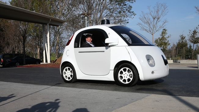 AP Exclusive: Big Texas Welcome for Google Self-Driving Cars