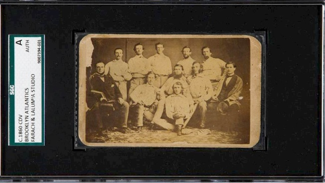 Pre-Civil War Baseball Card Goes for Over $100K at Auction - NBC 5 ...