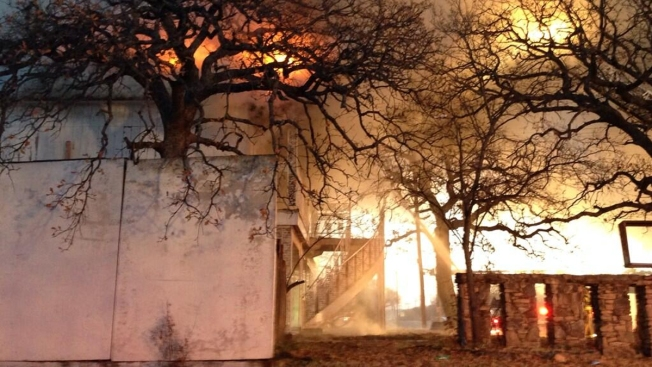 Fire Claims Abandoned Bedford Home