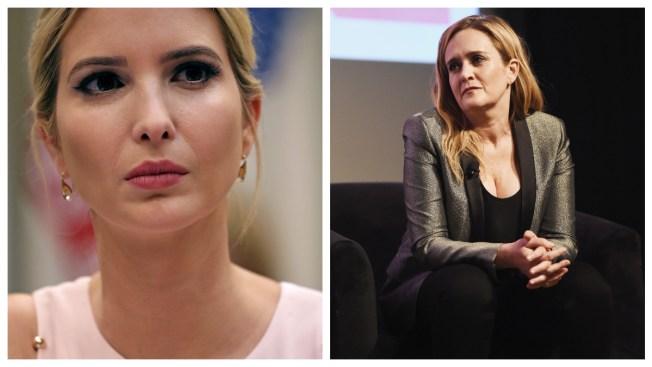 Comic Samantha Bee Apologizes for Ivanka Trump Slur
