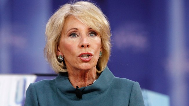 White House Gives DeVos Cold Shoulder After She Stumbles in Interview
