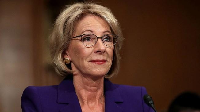 Education Secretary Pushes School Choice, Gives No Specifics