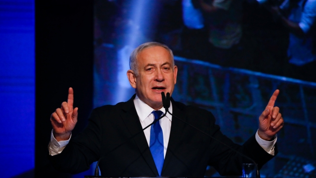 Israel's Netanyahu, Allies Appear to Fall Short of Majority