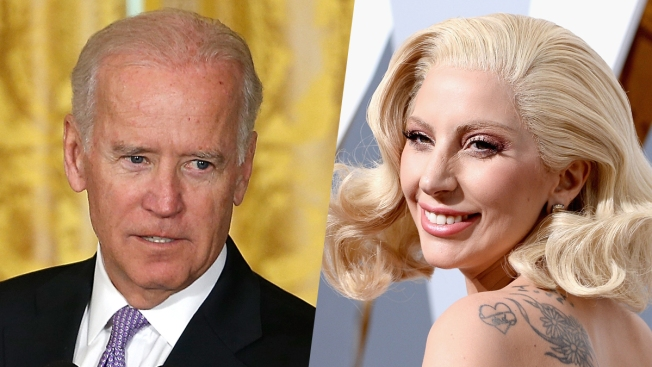 Biden, Gaga Team Up to Raise Awareness of Sexual Assault