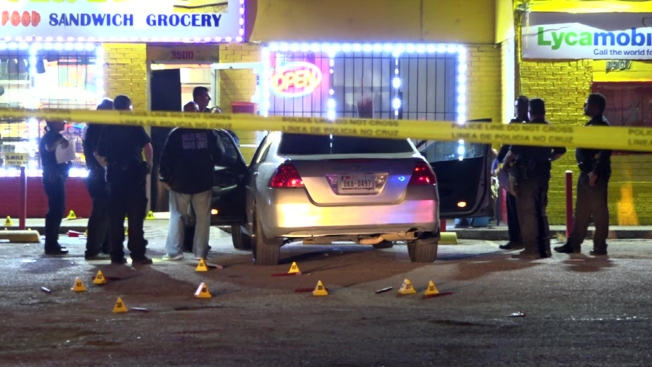 Three People Wounded in Shooting Outside Dallas Store