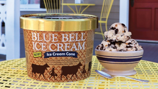 Blue Bell Releases 'Ice Cream Cone' Ice Cream