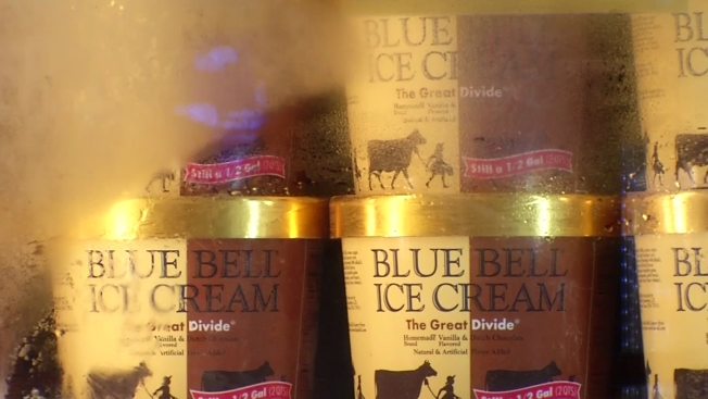 Blue Bell Returns to Most of Texas After Health Issues