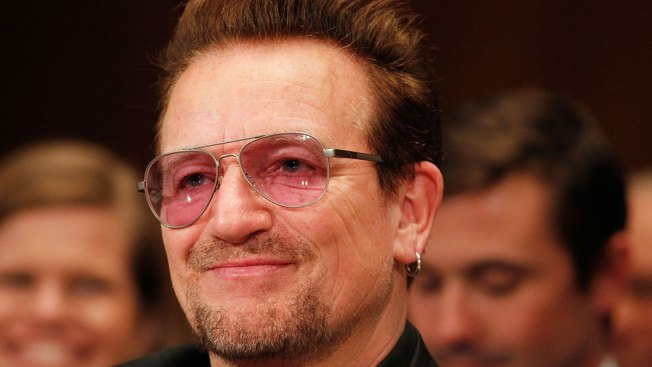 Bono wins prize at Woman of the Year awards