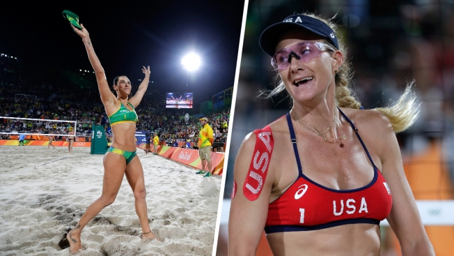 81c1181c67 Beach Volleyball  Brazil Beats US in Walsh Jennings  1st Olympic Loss Ever