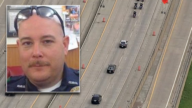 Body of Fallen DART Officer Escorted To Funeral Home