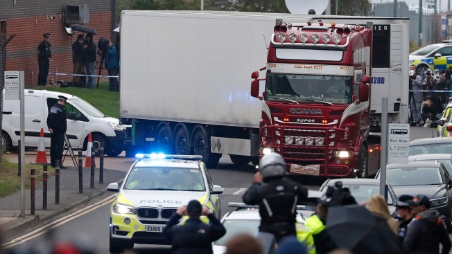 Suspect Charged in 39 Vietnamese Deaths in UK Container