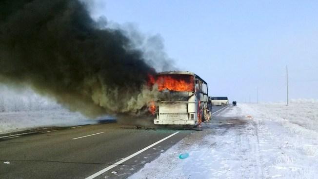 52 People Die in Bus Fire in Kazakhstan