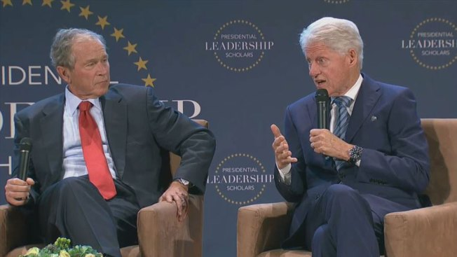Bush and Clinton to Celebrate Those in Their Leadership Program