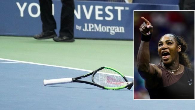Newspaper's Cartoon of Serena Williams as Toddler Having Tantrum Slammed as Racist, Sexist