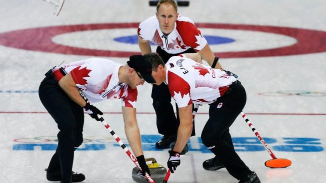Sweden, Canada Qualify for Men's Curling Semis