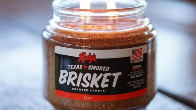 Rudy's Bar-B-Q is Selling Texas Brisket-Scented Candles