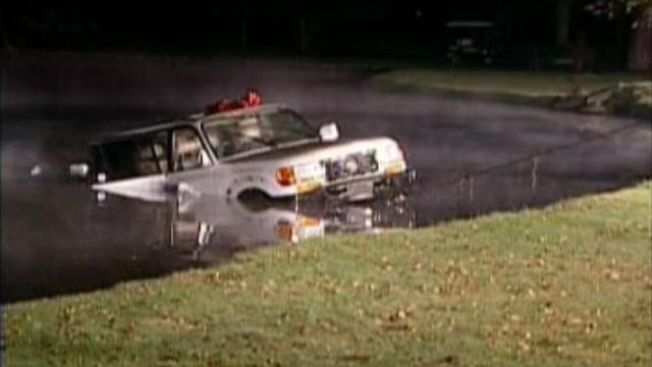Woman Arrested After Driving Into Carrollton Pond