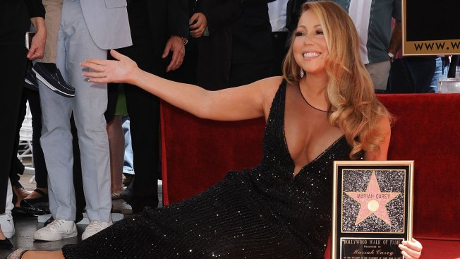 Mariah Carey's Star Vandalized on the Hollywood Walk of Fame